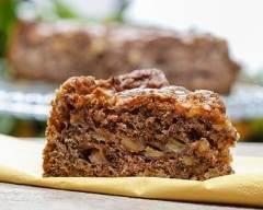 Recette brownies à la pomme, noix et chocolat noir