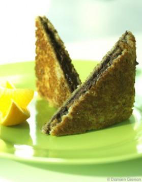 Croque-monsieur banane-orange-chocolat pour 2 ...