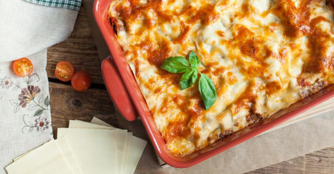 Recette de lasagnes corses aux blettes et au brocciu