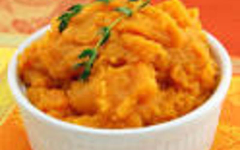 Recette purée de butternut et patates douces économique et simple ...