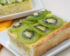 Recette tarte aux citrons et aux kiwis