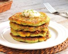 Recette beignets moelleux de légumes râpés