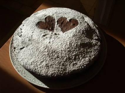 Recette de gâteau au chocolat et sucre vanillé
