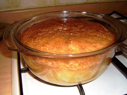 Recette de gâteau cocotte aux pommes