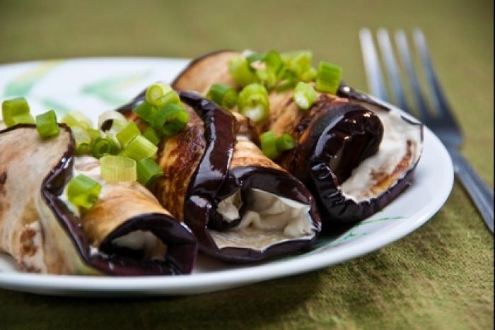 Recette de aubergines farcies la mozzarella facile et rapide recette - Cuisiner aubergine rapide ...