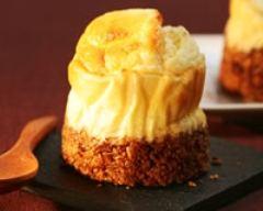 Recette cheese cake cuit à la poire