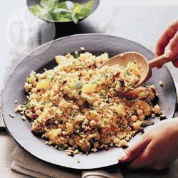 Recette salade de couscous à l'orange et aux dattes – toutes les ...