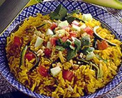 Recette paella aux légumes