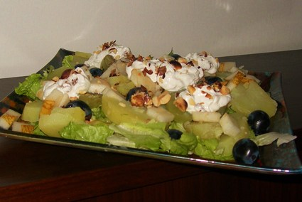 Recette de salade vigneronne
