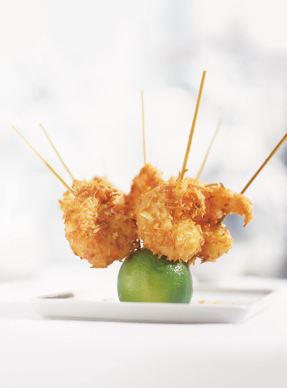 Crevettes à la noix de coco | ricardo