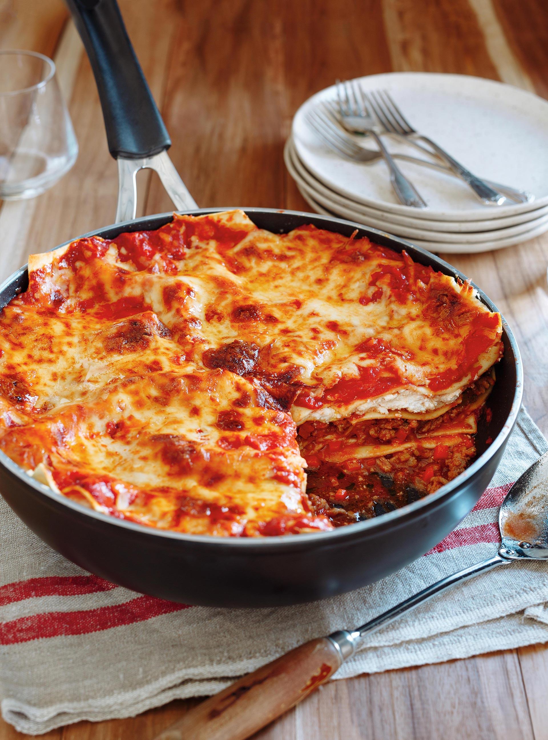 Lasagne la viande sauvage ricardo recette for Articles de cuisine de ricardo