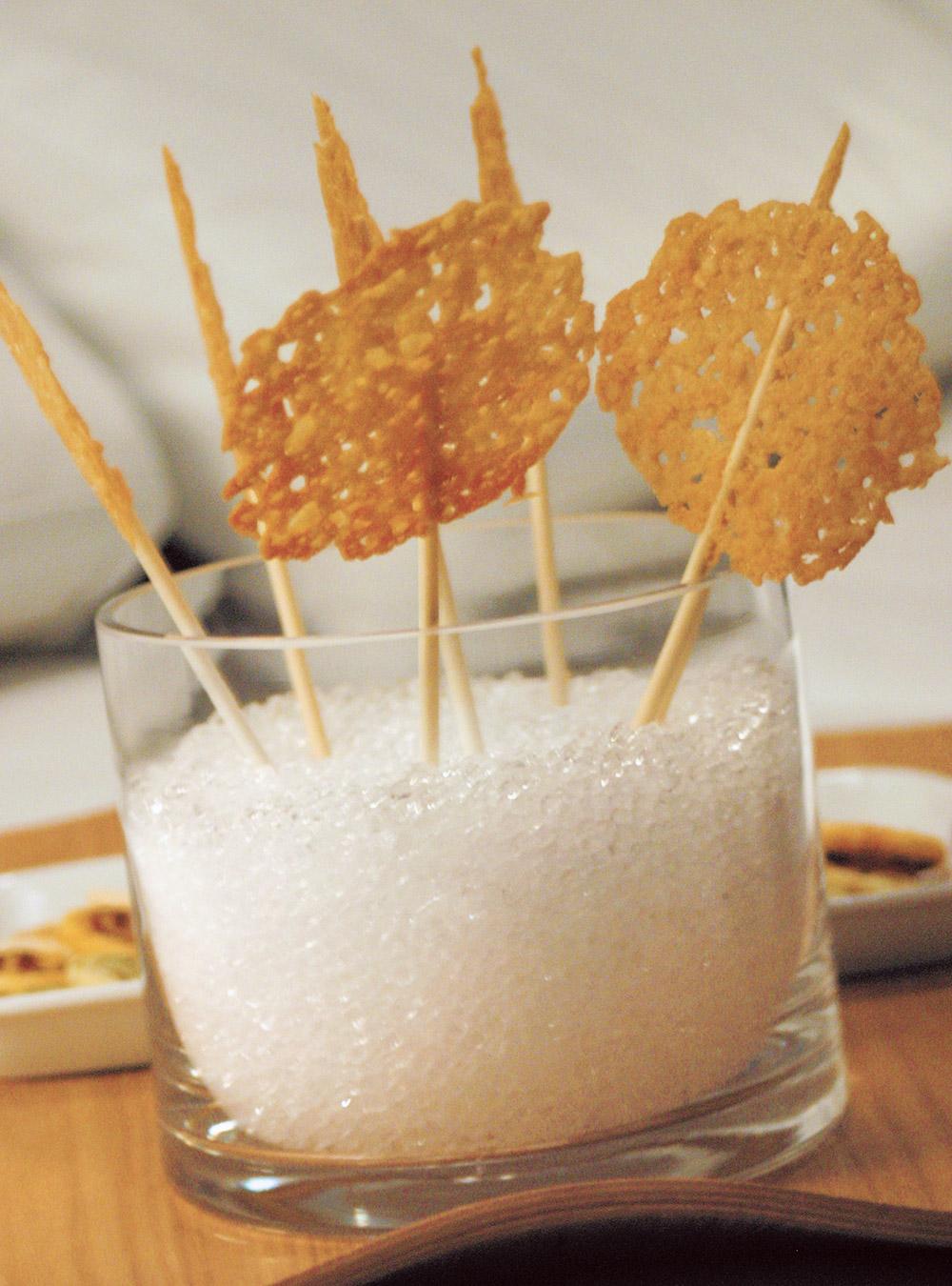 « sucettes » de parmesan   ricardo