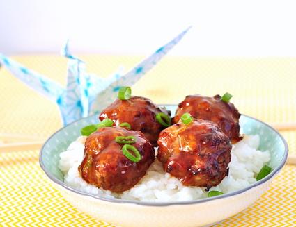 Recette de boulette de porc teriyaki  tsukune teriyaki