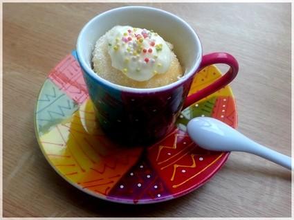 Recette de mugcake à la vanille