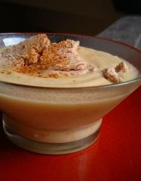 Crème de choux fleur aux copeaux de foie gras pour 4 personnes ...