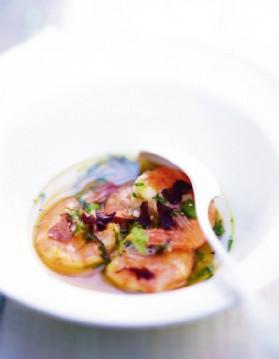 Nage de crevettes thaïe pour 6 personnes