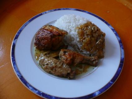 Recette de poulet au beurre de cacahuète