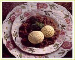 Recette purée de châtaignes et glace à la vanille