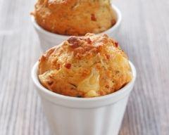 Recette muffins à la moutarde et au jambon