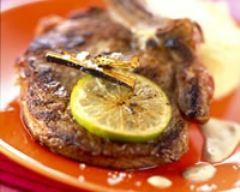 Recette côtes de veau à la réglisse et au citron vert