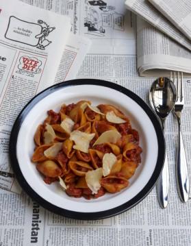 Les pâtes à la sicilienne de sébastien pour 4 personnes