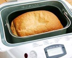 Recette pain de mie à la machine à pain