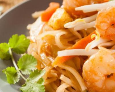 Recette crevettes aux légumes et curry au wok