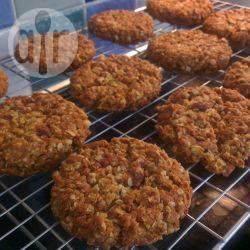 Recette biscuits croquants aux flocons d'avoine – toutes les ...