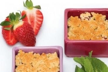 Recette de crumble aux fraises rapide