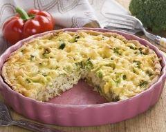 Recette tarte salée brocolis et fromage