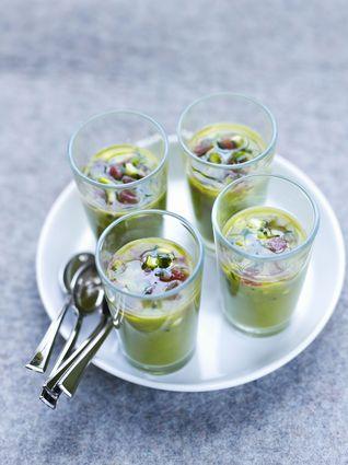 Recette de gaspacho frappé d'asperges vertes et tartare d'asperges ...