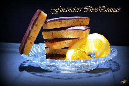Recette de financiers orange chocolat