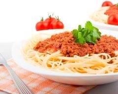 Recette spaghettis bolognaise minceur