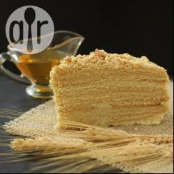 Recette gâteau au miel (medovik) – toutes les recettes allrecipes