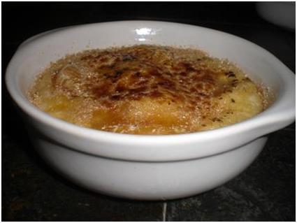 Recette de gratin de clémentines à la crème d'amandes