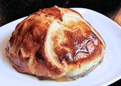 Recette de filet de bœuf en croûte aux champignons