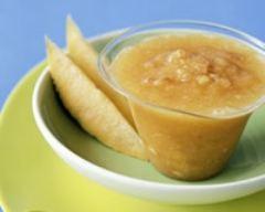 Recette soupe de melon et jambon de parme à la cannelle
