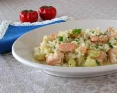 Recette risotto au saumon pour mijoteuse