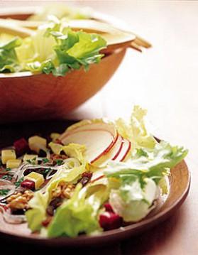 Scarole en salade pour 4 personnes