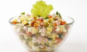 Salade de betterave au jambon blanc pour 4 personnes