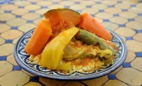 Couscous traditionnel pour 10 personnes