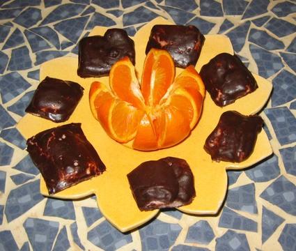 Recette de carrés de guimauve au chocolat