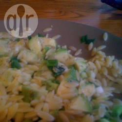 Recette salade de pâtes risoni à l'avocat – toutes les recettes ...