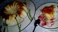 Recette de gâteau de semoule aux pommes et raisins secs