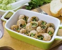 Recette escargots au beurre d'orties