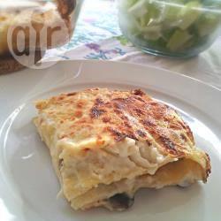 Recette lasagnes aux champignons et au jambon – toutes les ...