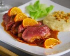 Recette magrets de canard à la mandarine et mousseline de panais ...