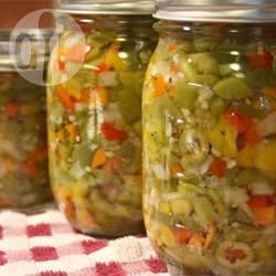 Recette jardinière de légumes marinés aux piments – toutes les ...