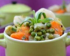 Recette mini cocottes aux légumes de printemps