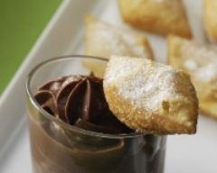 Recette tourtisseaux et petit pots de crème au chocolat